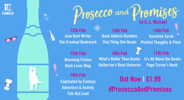prosecco and promises blog tour