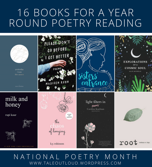 16 Books for a Year Round Poetry Reading