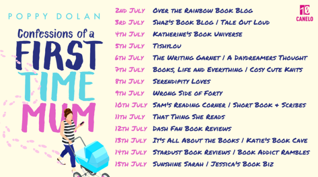 Confessions of a First-Time Mum blog tour