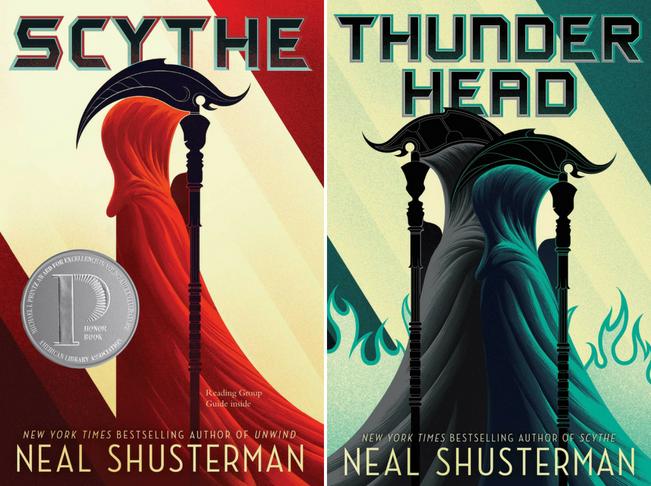 Scythe Thunderhead by Neal Shusterman