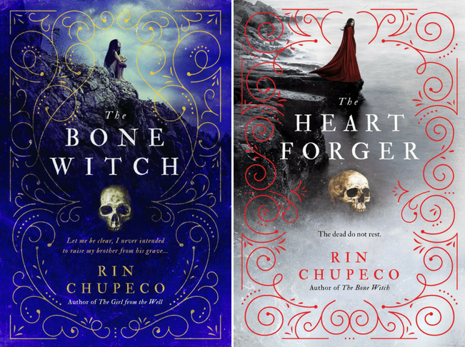 The Bone Witch The Heart Forger Rin Chupeco