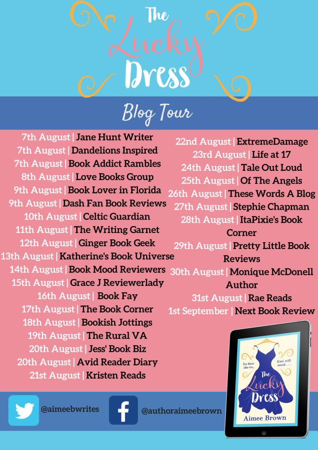 The Lucky Dress Blog Tour Banner