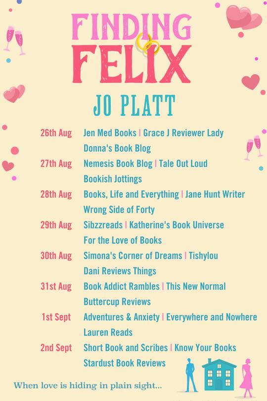 Fining Felix Blog Tour Banner