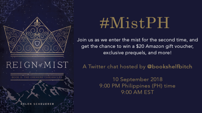 Reign of Mist Twitter Chat