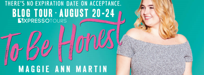 To Be Honest Blog Tour Banner