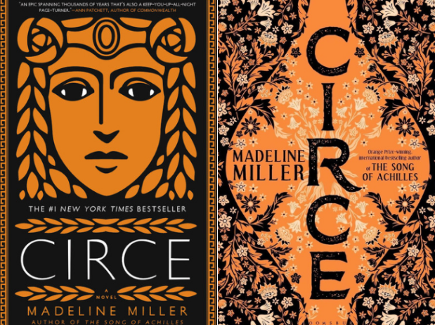 Book Cover Battle Circe By Madeline Miller Us Cover Vs
