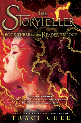 The Storyteller by Traci Chee Cover