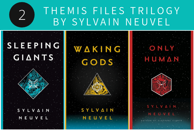 Themis Files Trilogy by Sylvain Neuvel