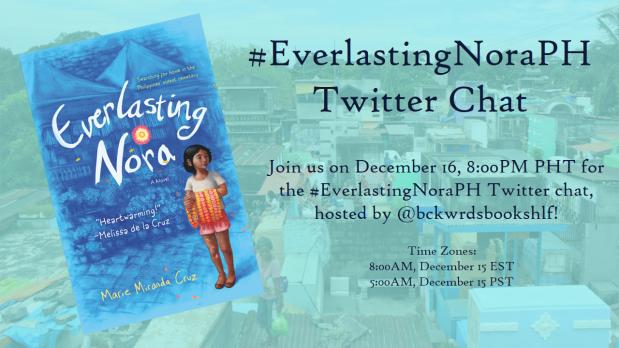 Everlasting Nora Twitter Chat Banner