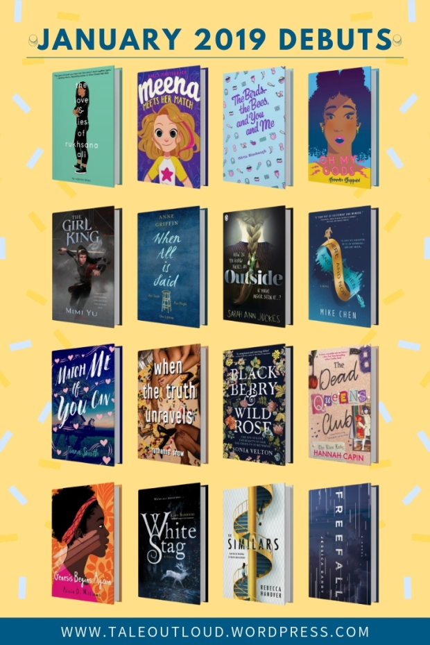 January 2019 Debuts Books On Spotlight