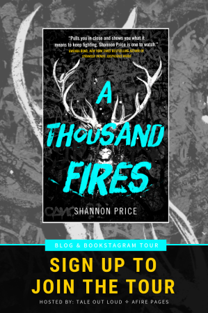 A Thousand Fires by Shannon Price Blog & Bookstagram Tour Sign Up